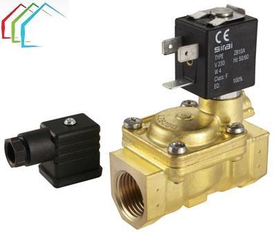 Elektromagnētiskais ventilis normāli slēgts 3/4''